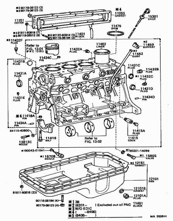 Depuis le 1er mai 2005 - Vue eclatee moteur ...